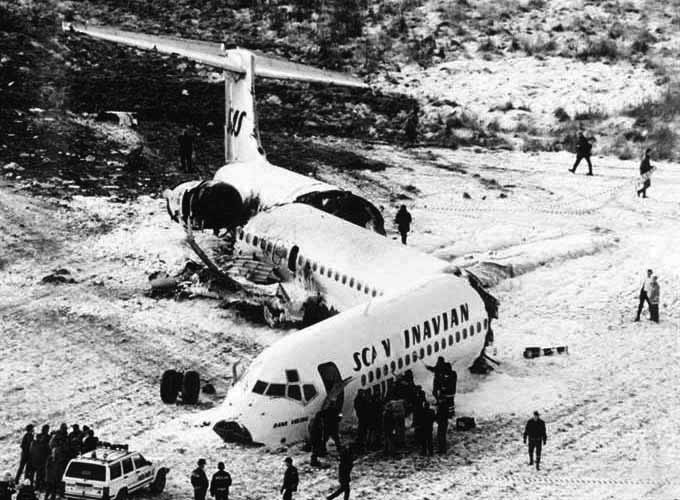 Scene of The Crash